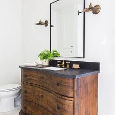 repurposed dresser as bath vanity design ideas