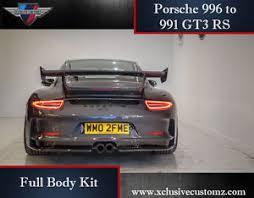 porsche gt3 ebay porsche 996 to 991 gt3 rs wide kit 996 conversion bodykit to