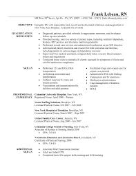 cover letter rn entry level nurse cover letter example sample