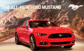 ford mustang ad ford motor co unveils its all 2015 ford mustang in dearborn