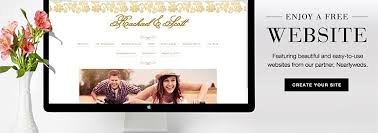 free wedding websites with wedding website w online rsvp wedding paper divas