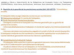 calculo referencial de prestaciones sociales en venezuela escritorio jurídico sánchez sosa asociados ppt descargar