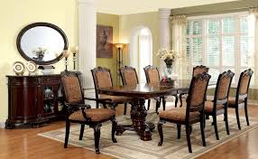 cherry dining room set bellagio brown cherry server from furniture of america cm3319sv
