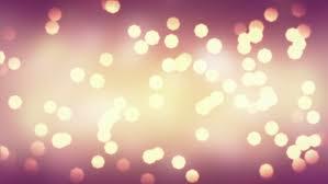 fast blinking sparkling lighting bokeh