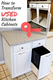 used kitchen furniture how to transform used kitchen cabinets in a space the