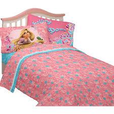 Tangled Bedding Set Disney Tangled Microfiber Bedding Sheet Set Walmart