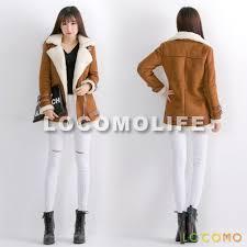 biker coat women brown faux suede fur sherpa lined zipper biker coat l