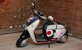 mini unveils electric scooter concept for paris auto show car