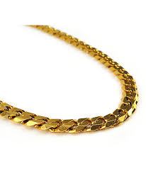 chunky link necklace images The gold gods flat edge 30 quot cuban link necklace zumiez jpg