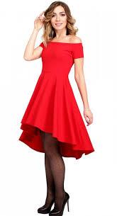 red asymmetric dress formal dress red party dress women new