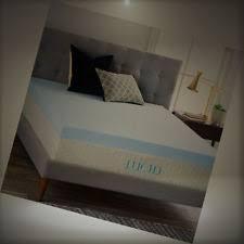 lucid 4 inch gel memory foam mattress topper twin lu40tt30gt ebay