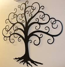 Metal Tree Wall Decor Awesome Black Metal Wall Decor 2 Metal Tree Wall Art Decor