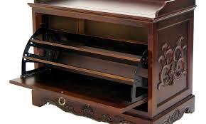 entryway bench with storage hemlock wooden storage entryway bench