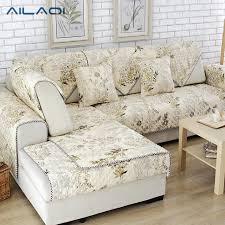 non slip cover for leather sofa aliaq simple modern cotton fabric sofa mat four seasons common non