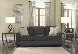 Ashley Living Room Furniture Ashely Charcoal Sofa Alenya Mathis Brothers