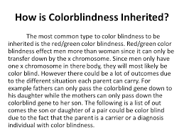 Does Colour Blindness Affect Males Or Females More Vyvyan Chau Esneidy Carranco Errol Zulueta And Nick Rupert Ppt