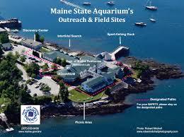 Map Of Portland Maine Maine State Aquarium Maine Department Of Marine Resources