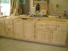 Unfinished Kitchen Islands Knotty Pine Kitchen Cabinets Design Ideas For Your Home