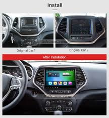 original jeep cherokee 10 2 inch android 6 0 touch screen radio bluetooth gps navigation