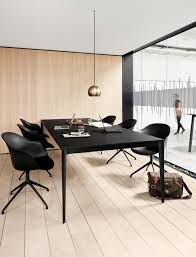 office modern conference room design modern black big table torino