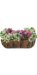 amazon com cobraco htr36 b 36 inch english horse trough planter