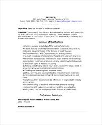 Cable Installer Resume Sample by Lineman Resume Template 6 Free Word Documents Download Free