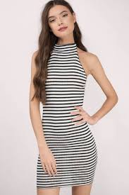 black u0026 white day dress high neck dress black dress day