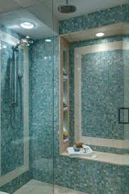 glass tile for bathrooms ideas 27 walk in shower tile ideas that will inspire you home