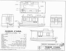 Houseboat Floor Plans by Aqua Casa Houseboat