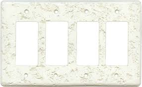 Travertine Switch Plates by Stonique Biscuit Light Switch Plates Outlet Covers Wallplates