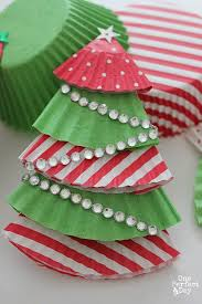Cute Decorations For Christmas Tree by Cupcake Liner Christmas Tree Ornaments