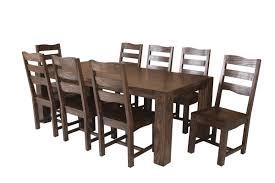 9 piece dining room table sets infini furnishings strasbourg 9 piece dining set u0026 reviews wayfair