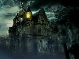 images of spooky haunted house artworks sc
