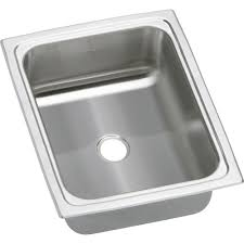 Drop In Kitchen Sinks Franke Drop In Stainless Steel 15x15x6 2 Hole Single Basin Kitchen