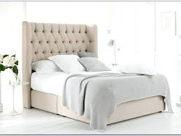 headboards double bed white wooden headboard striped design bed