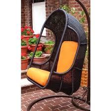 outdoor wicker porch swings