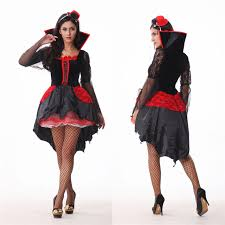 vire costume and black