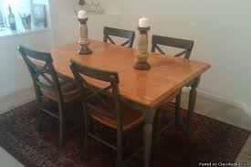 Pier One Dining Table And Chairs Pier 1 Dining Table And Chairs Like New Price 300 For Sale