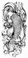 29 best vampire koi fish tattoo designs images on pinterest fish