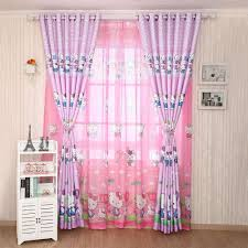 best curtains for kids hello kitty curtains for real princess