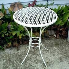 Antique Metal Patio Chairs New Retro Metal Patio Furniture For Patio Furniture Sale Patio