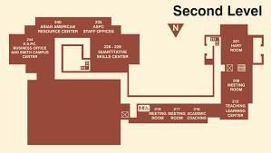 Smith College Map Campus Center Map Pomona College In Claremont California