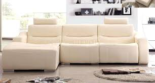 White Leather Sofa Sectional White Leather 2143 Modern Reclining Sectional Sofa By Esf Modern