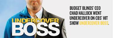 Budget Blindes Budget Blinds Ceo Chad Hallock On Cbs U0027s Hit Series U201cundercover