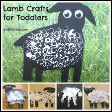 lamb crafts for toddlers lamb craft lambs and craft