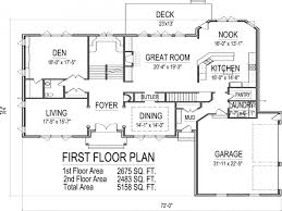 100 5 bedroom 2 story house plans 2 floor house plans best