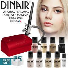 Professional Airbrush Makeup System Dinair Airbrush Makeup Kit Pro Ebay