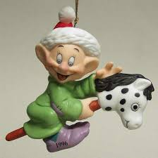 grolier disney annual ornaments at replacements ltd