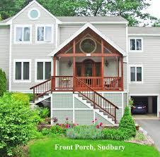 Colonial Front Porch Designs Front Porches U2014 A Pictorial Essay U2013 Suburban Boston Decks And