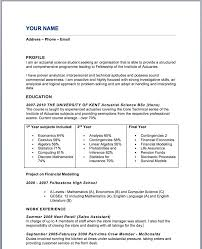 Sample Actuary Resume by Actuary Trainee Cover Letter
